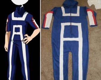 My Hero Acadamia Gym Uniform Inspired Kigurumi Onesie