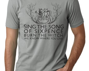 Burn the Witch shirt - Radiohead inspired t shirt - Radiohead shirt - Indie rock shirt