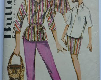 Vintage Sewing Pattern. Butterick 9770.