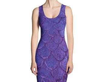 Violet Scales Dress
