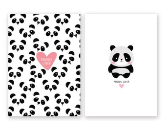 Panda's Lover or Cute Panda