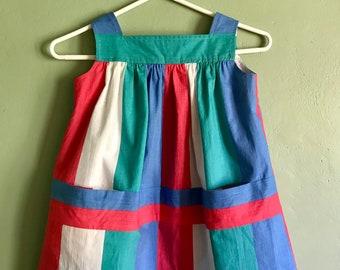 Sundress, stripes, girls 5