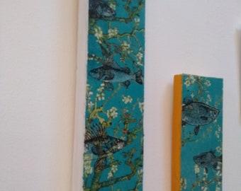 Blue Fish Wall Art