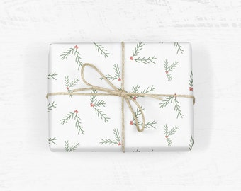 Holly Wrapping Paper