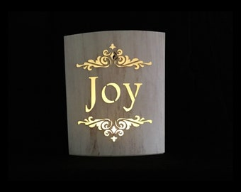 Lighted Paper Lantern