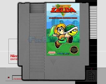 """FANBREW EXCLUSIVE! """"Zelda in Super Mario Bros. World"""" Nintendo NES Amazing Mario Hack!!"""