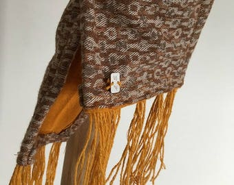 Natural women scarf