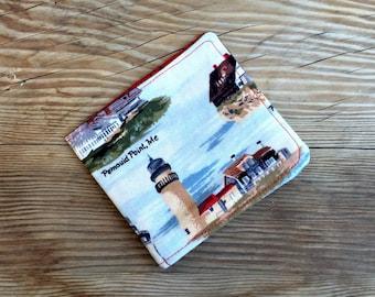 Lighthouse Bi-Fold Wallet