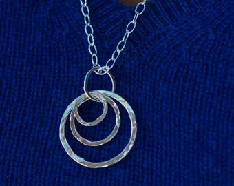 A Study In Gauge, Modular Jewelry pendant, mama metal