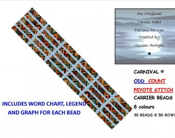 CARNIVAL  - Carrier Bead Patterns