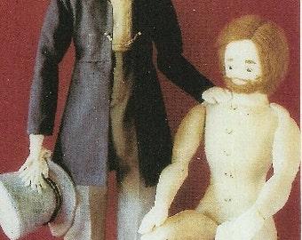 ALBERT - Victorian Doll Pattern