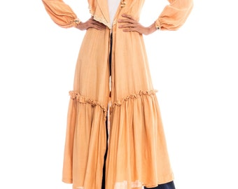 1930s Silk Duster Coat Size: M