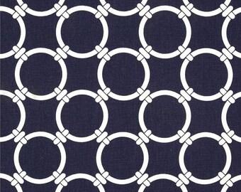 Navy Blue  Links Pleated  Wristlet, Purse, Clutch. Wallet, Zippered Pouch, Handbag-