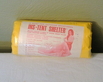 1960s Ins-Tent Shelter; Camping Tent
