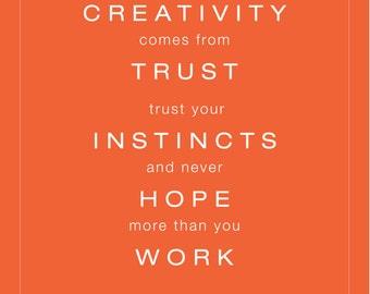 Creativity Print — DIGITAL DOWNLOAD 8x10