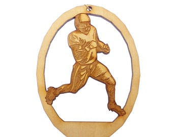 Football Christmas Ornaments - Football Player Gift - Football Ornament - Football Ornaments - Football Team Gifts - Personalized Free