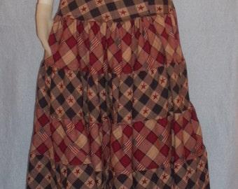 Modest Tiered Skirt