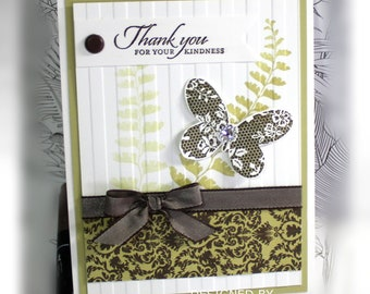 Thank You Card- Stampin' Up Thank You for your Kindness