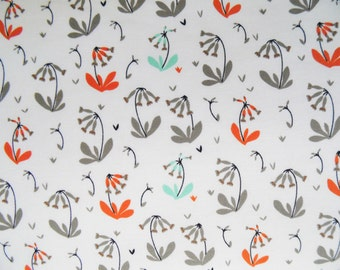 Organic cotton crib sheets and Mini crib sheet including 4Moms Nuna Sena Chicco Lotus Arms Reach Bloom baby etc. Floral mint gray rust white