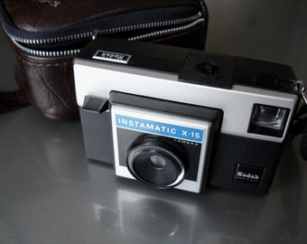 Vintage Kodak Instamatic X-15 - Check out all of our vintage cameras