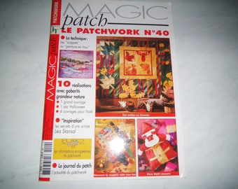 "Book ""The number 40 Patchwork"""