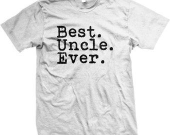Best UNCLE Ever! Happy Father's Day T-Shirt - GH_01356