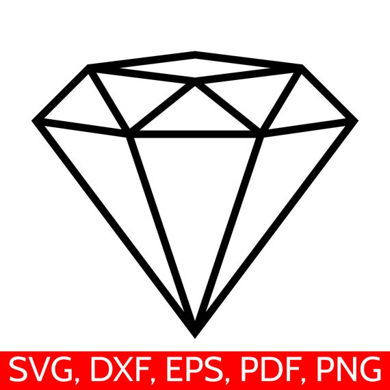 diamond svg file for cricut and silhouette diamond svg cut Vinyl Cutting Clip Art Free Vinyl Cutting Designs