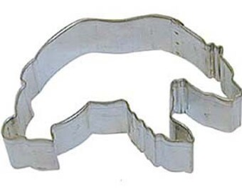 "BEAR Cookie Cutter, grizzly bear cookie cutter, 3.5"" black bear cookie cutter, polar bear cookie cutter"