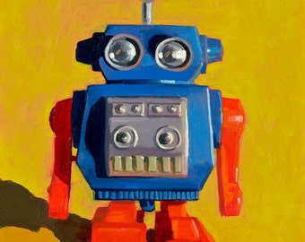 Toy Robot - Art Print