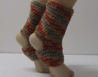 Crochet Yoga Socks Adult Size 6-8