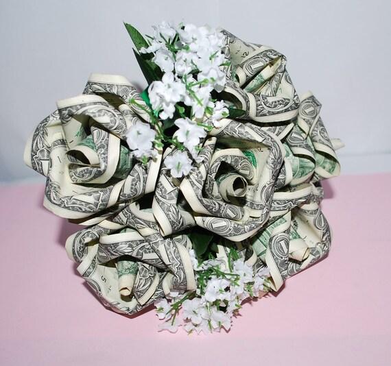 Money roses money flower bouquet rose bouquet origami mightylinksfo Images