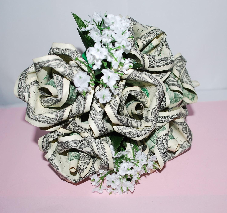 Money Roses Money Flower Bouquet Rose Bouquet Origami