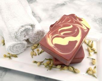 Title- Floral Scented Soap – Flower Soap – Jasmine Soap – Jasmine Scented Soap – Floral Soap – Artisan Soap – Artisan Scented - Luxury Soap