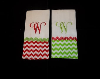 Personalized Hand Towel-Personalized Christmas Hand Towel
