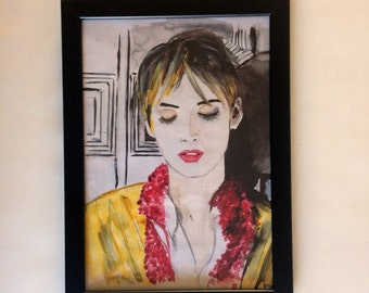 Winona Ryder illustration- limited edition art print
