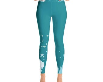 Coming Up Roses - Yoga Leggings