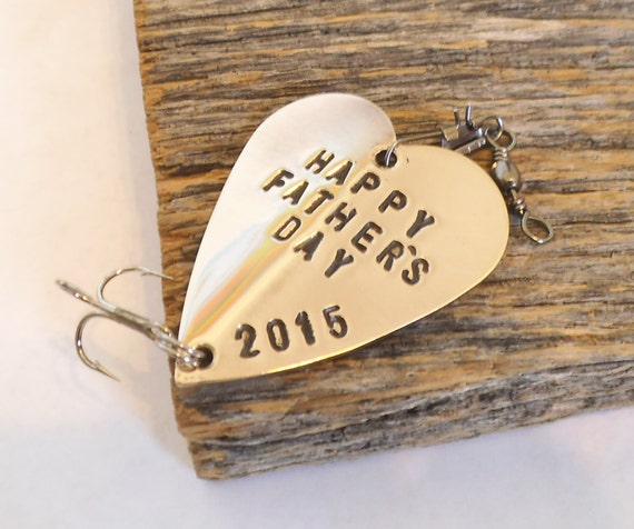 Personalized Fathers Day Gift For Husband Fishing Lure For