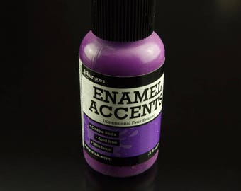 1 Flasche Ranger Enamel Accents Grape Soda lila (14 ml) .5 fl oz