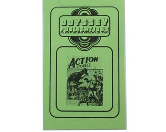 Vintage Odyssey Publications / Action Stories Order Form.