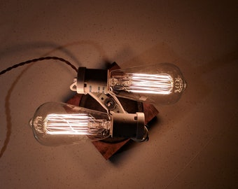 Double Edison Bulb Lamp