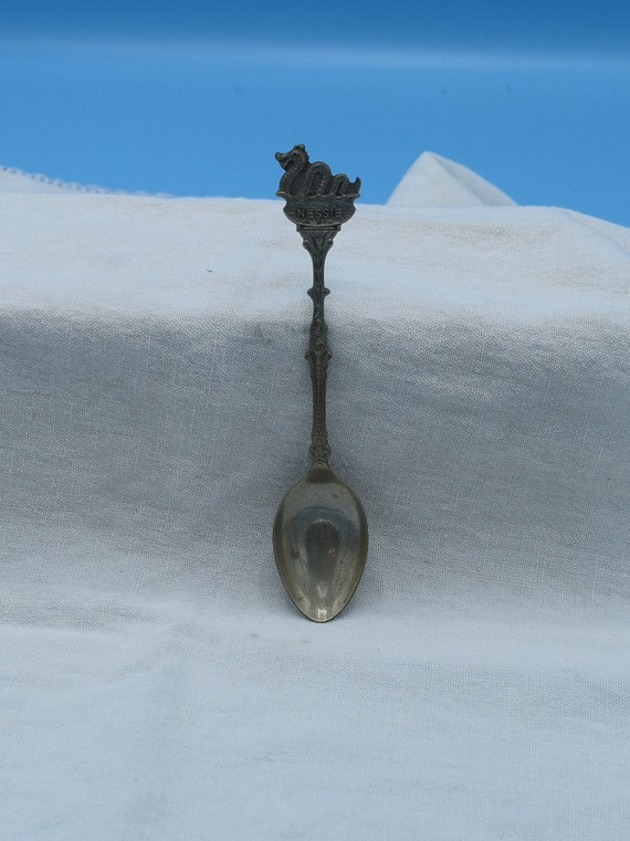 Nessie Loch Ness Monster Souvenir Spoon Vintage N S Marked Spoon Scotland Memento Memorabilia Scottish Highlands Loch Ness
