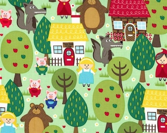Micheal Miller Into The Forest/Cotton/Fabric/Sewing/Quilting