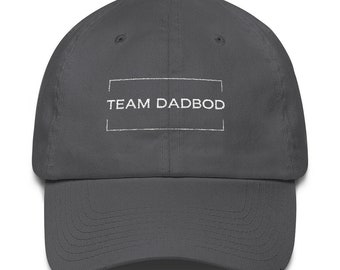 Team DadBod Cotton Cap