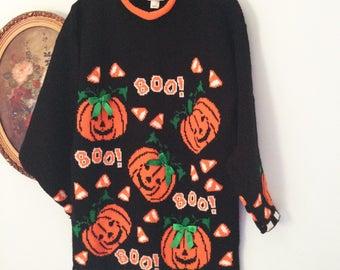 Cutest Halloween pumpkin ugly sweater