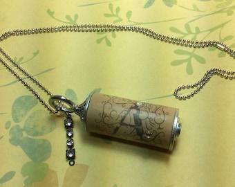 Apothic Wine Cork Necklac. A necklace