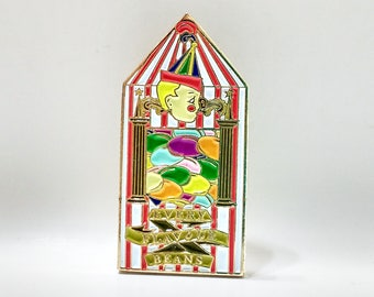 BERTIE BOTTS Every Flavour Beans Candy Box soft enamel lapel PIN / Hogsmeade Honeydukes Harry Potter Candy Hogwarts / BUNCEandBEAN