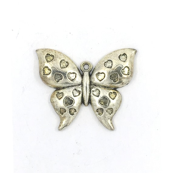 """Great charm - silver tone """"Butterfly"""""""