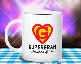 Gran Gift, Super Gran, Mother's Day, Gran Mug, Birthday Gift For Gran! Gran, Gran Birthday, Gift For Gran! Present For Gran, Awesome Gran