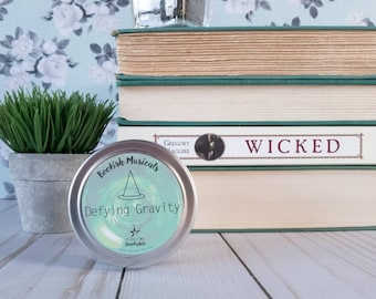 Defying Gravity | 4 oz Candle | Wicked | Broadway Musical | Elphaba | Floating Starlights