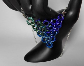 Necklace with Color Gradient
